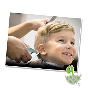 Bunique Ultra-Silent Hair Clipper Kit for Kids