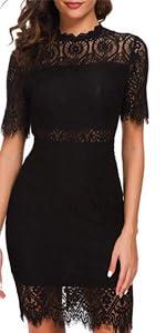 lace cocktial dress