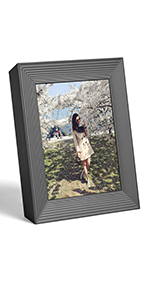 perfect gift memories photo beautiful frame free-standing smart image share easy to use instant