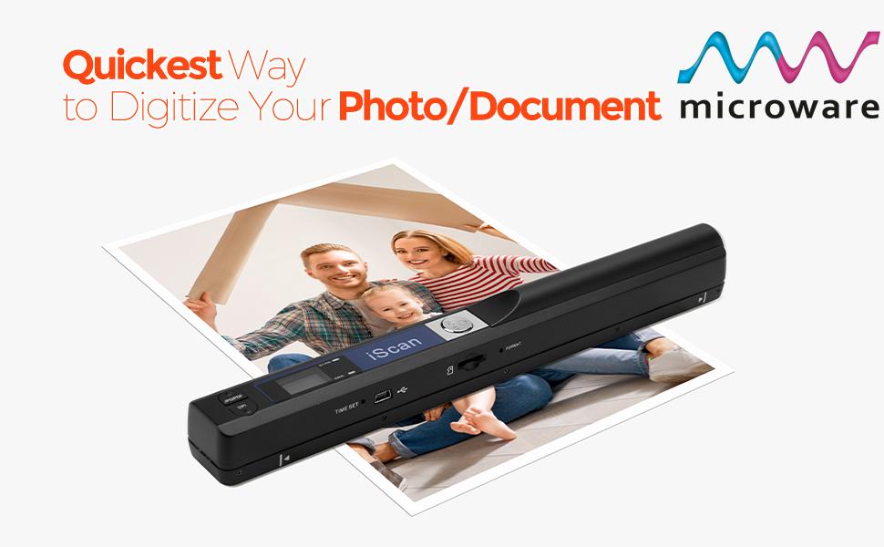 iscan portable handheld scanner 900 dpi scanner
