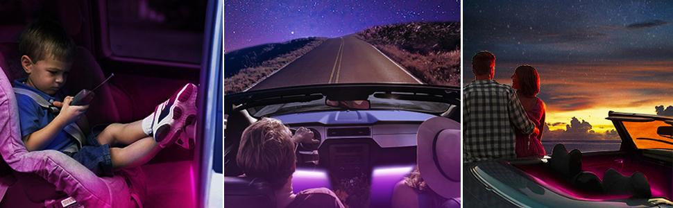 car interior lights