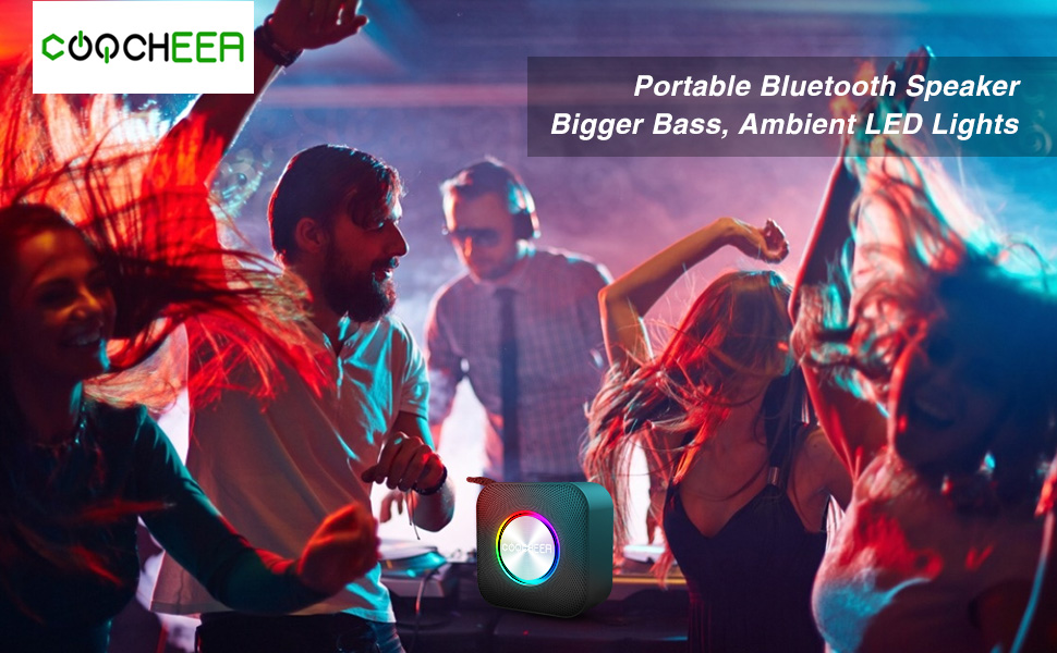 COOCHEER Portable 5W Bluetooth Speaker