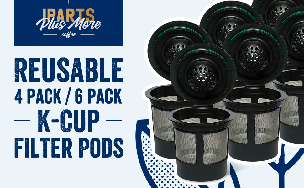 Reusable Single Cup Coffee Filters