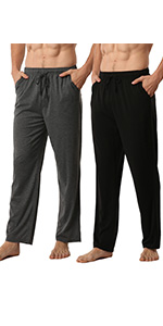 mens modal pyjamas bottoms
