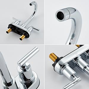 4-Inch Centerset Bathroom Faucet