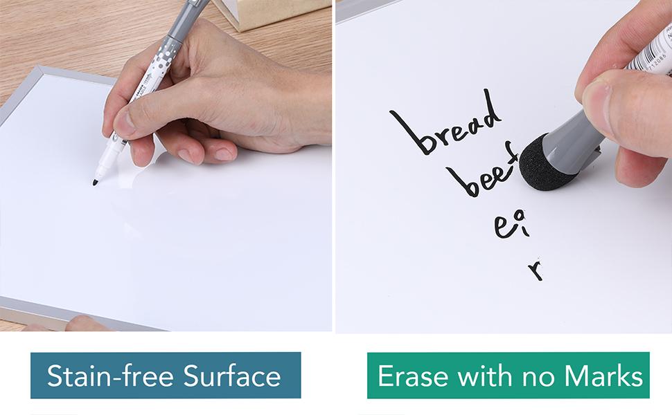 white board small KAWAIIdesk accessories for women office desk whiteboard handheld white board