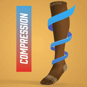 Sparthos Compression Running Socks Medical Athletic Gear