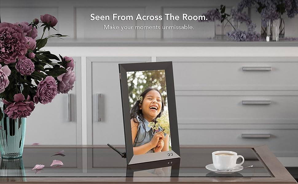 smart digital photo picture frame
