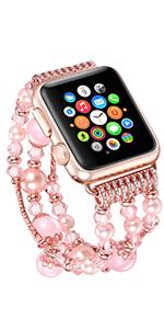 crystal apple watch band