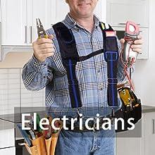 Electrician Tool Belt Suspenders