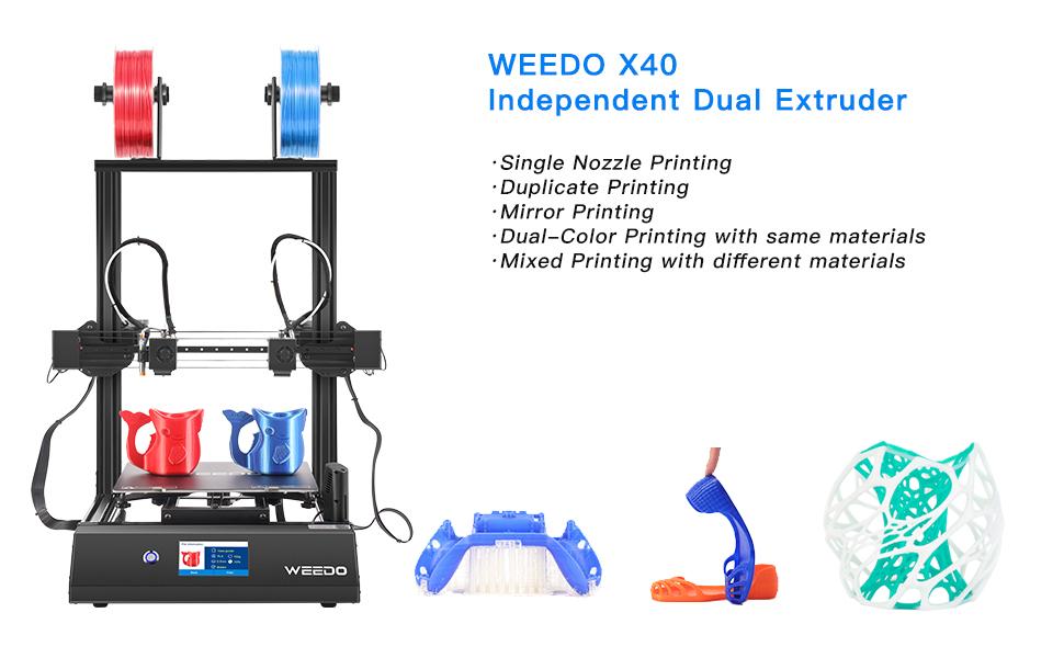 WEEDO X40 Independent Dual Extruder