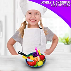Lovely and Cheerful Kids Kitchen