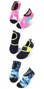 Kids Boys Girls Water Shoes Quick Dry Barefoot Aqua Socks for Beach Swimming Pool