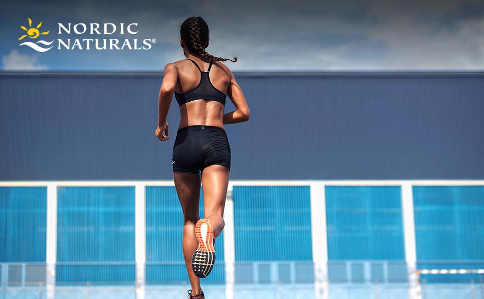 Nordic Naturals Woman Running