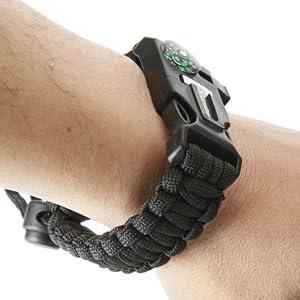 atomic bear survival bracelet