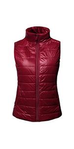 NE PEOPLE Women/'s Lightweight Padded Puffer Zip up  Quilted Jacket W//Hood NEWJ01