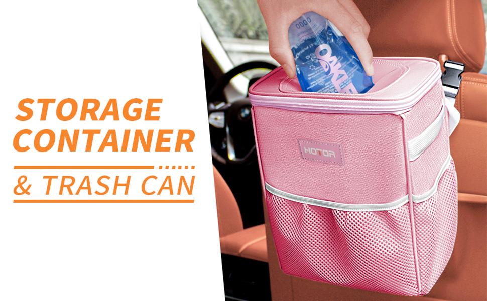 car trash can