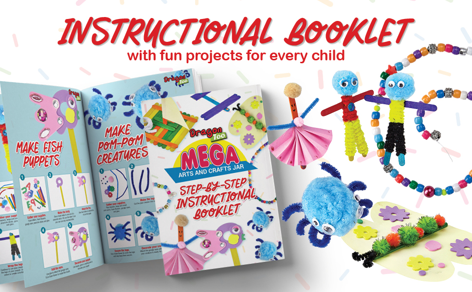struction instructional book booklet for creatiand crafts