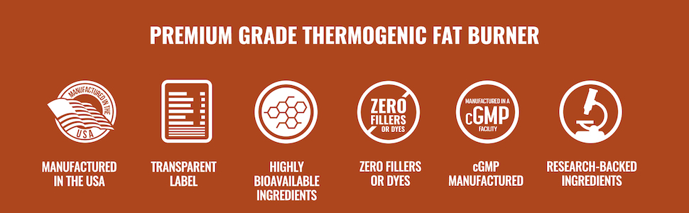 Premium Grade Thermogenic Fat Burner