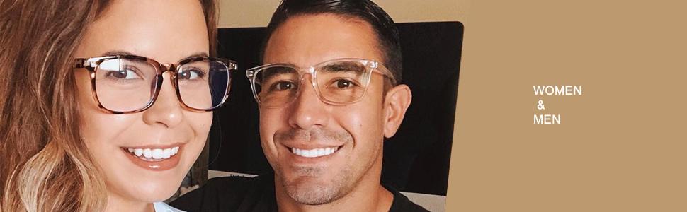blue light glasses for women men