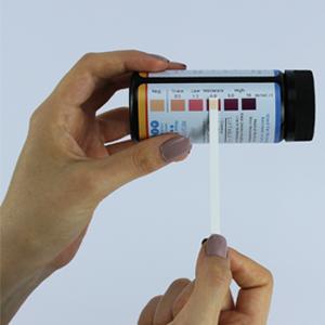 life2o ketone compare used strip to color chart