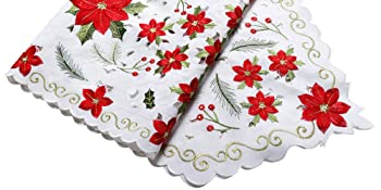 Christmas Embroidered Table Runners