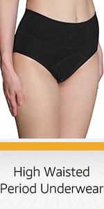 high waisted period underwear