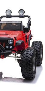 Monster jeep ride on