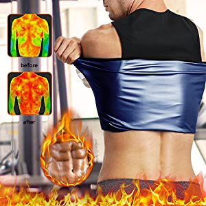 sweat tank top for men