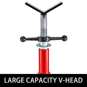 Large Capacity V-Head