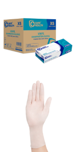 Safe Health PVC with glove