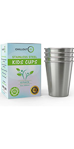 Cups for Kids and Toddlers 8 oz.