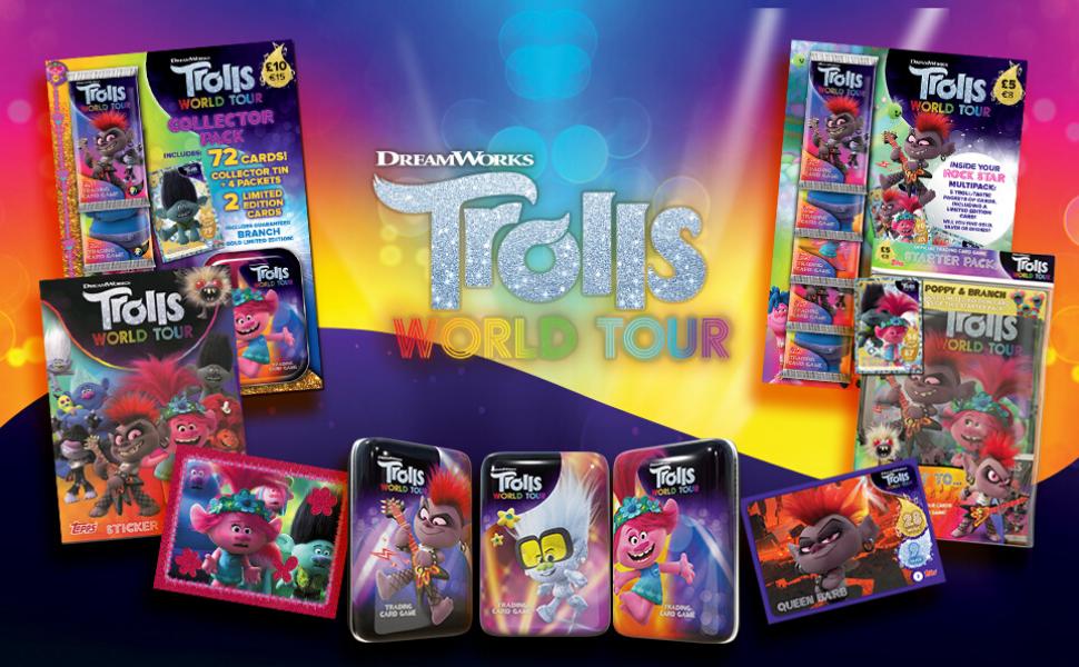 Topps Trolls World Tour Card 120