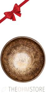 Antique Design Handmade Tibetan Singing Bowl (Medium)