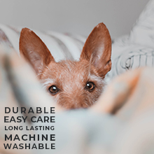 Easy Care, Durable, Machine Washable