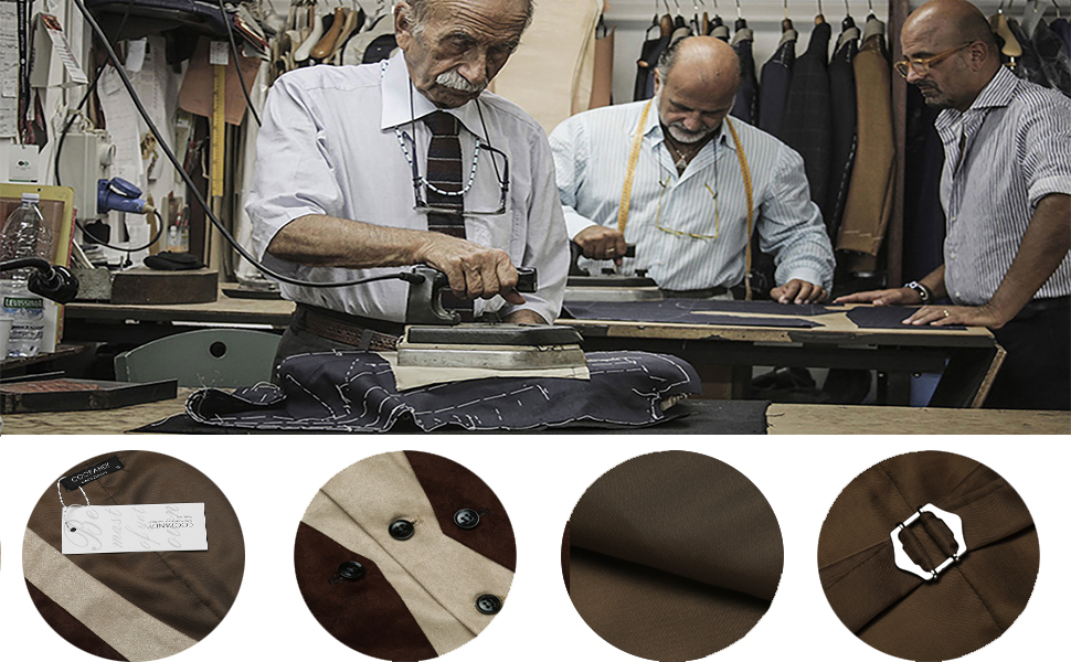 coofandy mens suede leather vest