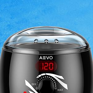 AEVO Warmwachs Set - Elektrischer Wachswärmer für Haarentfernung zuhause