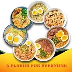Vi Huong Instant Noodles Flavors Vietnamese