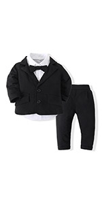 Cute Fashion Baby Boys Gentleman Clothes Set