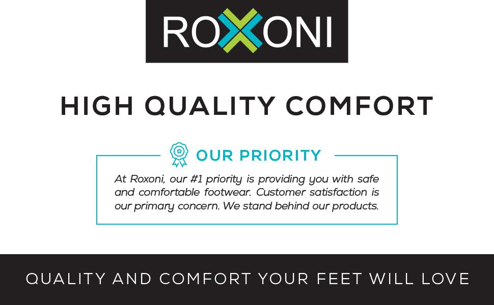 Roxoni Quality and Comfort Footwear