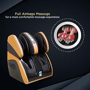 full airbag massage foot massager