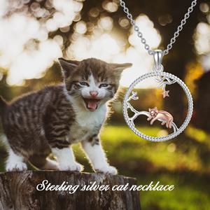 neues Mutter geschenk Geburtstagsgeschenk f/ür Mama Personalisierte Gold Mama Katzengesicht und Baby Katzengesicht Armband Geschenk f/ür Katzenliebhaber