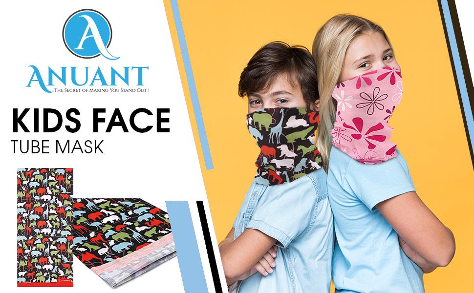 ANUANT-Kids Neck Gaiter Face Mask-Top
