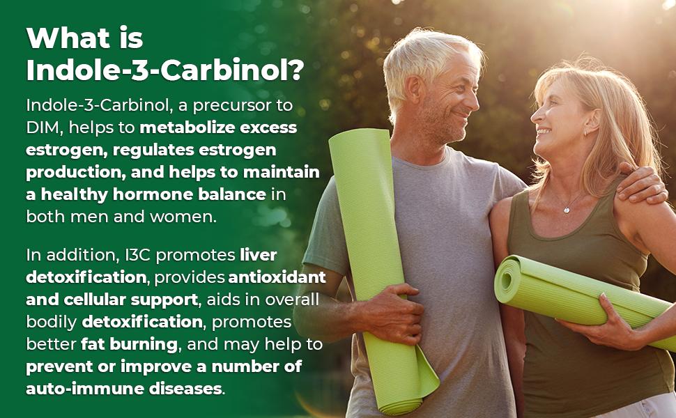 Zazzee Indole-3-Carbinol helps metabolize and regulate estrogen and maintain healthy hormone balance