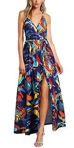 Criss Cross Maxi Dress