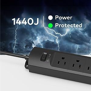 power strip surge protector