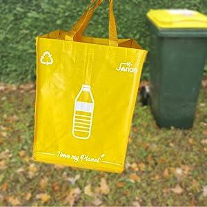 basurero reciclaje cubo de basura grande cubo basura reciclaje 3 compartimentos