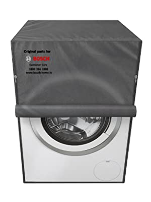 bosch original grey protective dust cover for washing machine and dishwasher dustproof waterproof