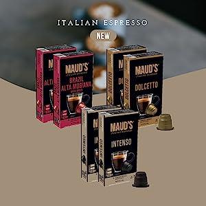 Italian Espresso Capsules Coffee Nespresso Coffee Lavazza Nescafe Cafe Agga Rosso Starbucks