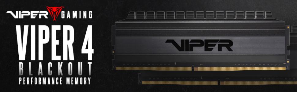 Viper 4 blackout DRAM